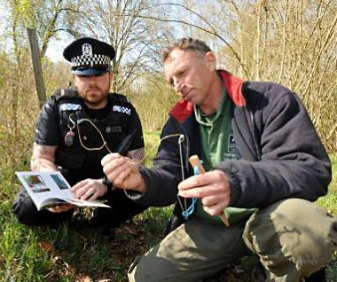 Illegal snares in Hampshire