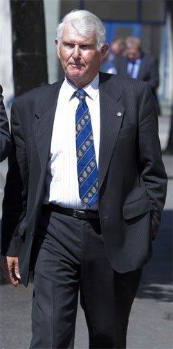 Badger killer Richard Harold James