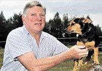 Snare traps dog on the Novar Estate